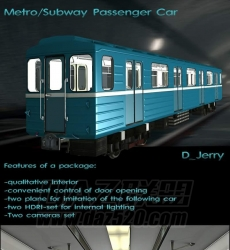 Metro Subway Passenger Car -DAZ联盟(交通工具)102677